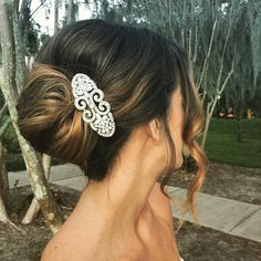 awesome 45 Best French Twist Updo Ideas -- The Greatest Options For You! Check more at http://newaylook.com/best-french-twist-updo-hairstyles/