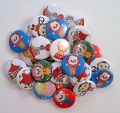 Hey, I found this really awesome Etsy listing at http://www.etsy.com/listing/97366619/circus-buttons-big-top-party-30-party