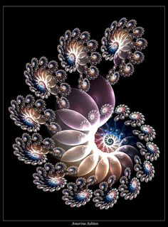 Sparkling Spirals 1 by AmorinaAshton.deviantart.com on @deviantART