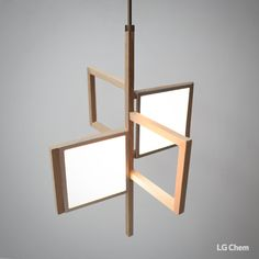 If you are inspired by modern style, here is an example of lighting design using LG Display OLED lighting DIY Double Kit. Simply attach the light panels to the wooden squares in the same size of panels. Check out Organic Lights at http://www.organic-lights.com/en/lg-display-do-it-yourself-kit.html