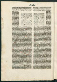 Bíblia. Llatí :: Incunables (Biblioteca de Catalunya)