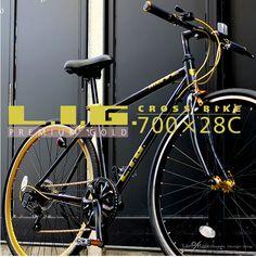 クロスバイク 自転車 700C アルミフレーム 軽量 シマノ7段変速 :lig-move:LANRAN - 通販 - Yahoo!ショッピング