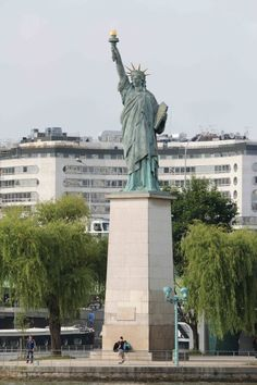 estatua de la libertad rio sena - Buscar con Google