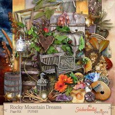 Personal Use :: Kits :: Rocky Mountain Dreams Page Kit