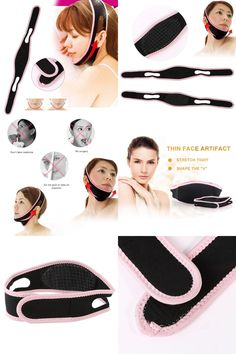 [Visit to Buy] New Face Lift Up Belt Sleeping Face-Lift Mask Massage Slimming Face Shaper Relaxation Facial Slimming Bandage Health Care #Advertisement
