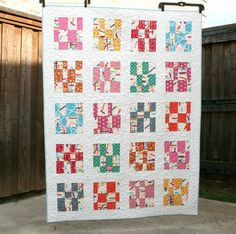 Washi Tape Quilt by QuiltsByEmily, via Flickr