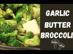 Garlic Butter really makes everything better and this garlic butter broccoli is proof! This is the broccoli everyone will eat, even those picky eaters. Butter Broccoli, Garlic Broccoli, Frozen Broccoli, Broccoli Recipes, Garlic Butter, Vegetable Recipes, Mediterranean Diet Recipes, Picky Eaters, Low Carb Recipes