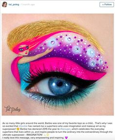 This Makeup Artist Truly Is an Artist and After Seeing Her Work You'll Instantly Agree - Dose - Your Daily Dose of Amazing