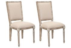 Elizabeth Side Chairs, Pair on OneKingsLane.com