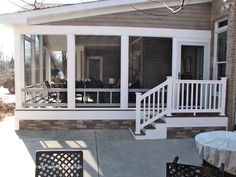 Thinking about an outdoor extension? Check our gallery of front porches, screened-in rooms, and sun-rooms for great ideas.