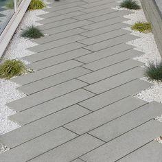 Blue Grey Granite Plank Paving