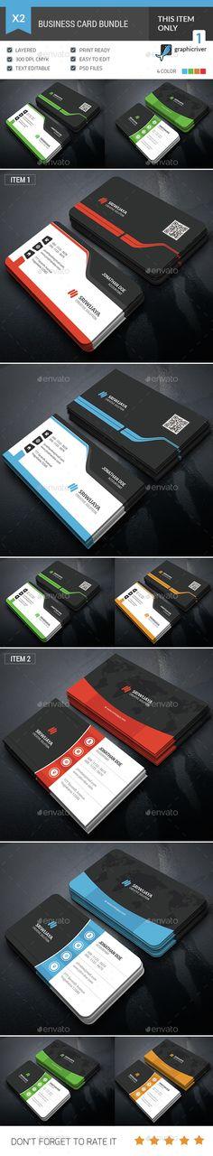 Business Card Template PSD Bundle. Download here: http://graphicriver.net/item/business-card-bundle/15301685?ref=ksioks