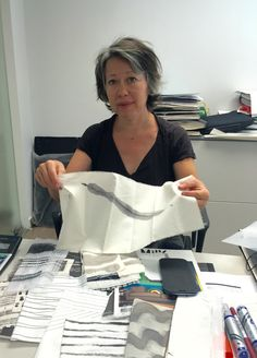 Visitors today: Suyin Tsang. Suyin is a practicing textiles designer working internationally. She will be delivering a two-day workshop with me later this week. All exciting stuff.