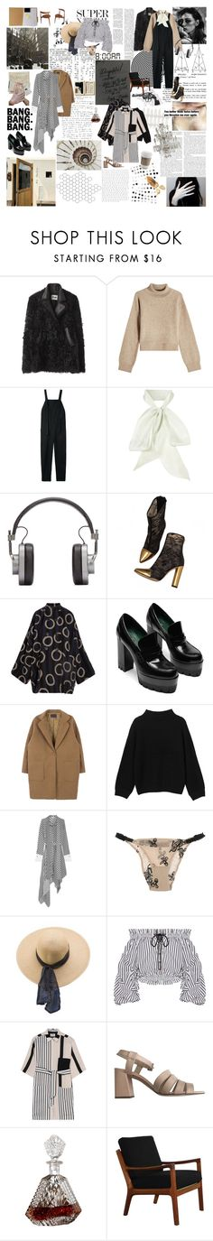 """""""R E V I V A L"""" by theambitiouscard ❤ liked on Polyvore featuring Acne Studios, Rejina Pyo, Base Range, Master & Dynamic, Balmain, Vivienne Westwood Anglomania, Monki, Monse, Kristina Ti and American Apparel"""