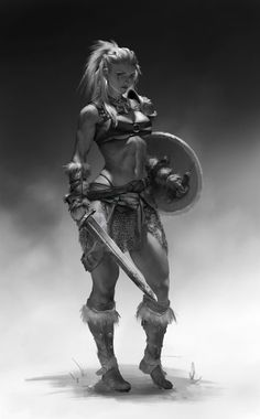 Viking Women Viking women led a life that women of their time in other regions might envy. The stories of the Viking women's life was full of inspiration of empowering the women. Check it out now the Viking Women life on this writing. Fantasy Warrior, Fantasy Girl, Fantasy Women, Fantasy Rpg, Medieval Fantasy, Fantasy Fighter, Fantasy Artwork, Female Character Design, Character Art