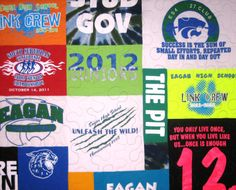 Look into this one!! Custom tshirt Quilt Deposit by NoBoundariesQuilts on Etsy, $100.00