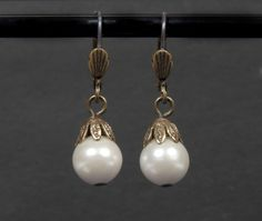 "Pair of pearl drop earrings worn by Whitney Houston in ""The Bodyguard"" up for auction"
