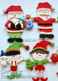Canela en casa: Cortadores de Navidad