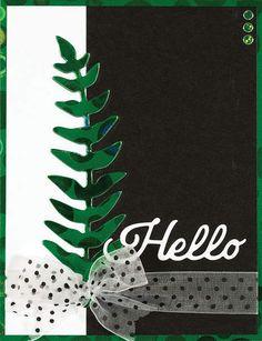 Hot Off The Press Dies - Hello Ferns Cutting Dies Set