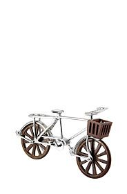 PEWTER WOODEN BICYCLE