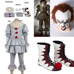 Pennywise Costume And Makeup Tutorial