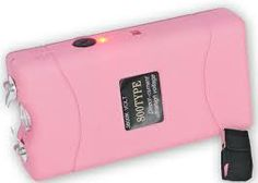 you can't help it you're gorgeous!! SO-carry a taser gun.  No blood, and it can be fun and fashionable to shock the hell out of a d-bag with this sassy pink one!!