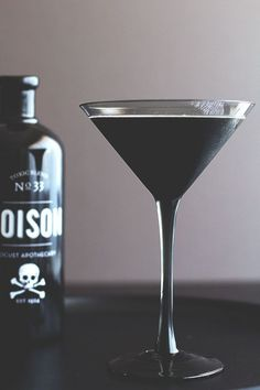 Blackbeard Cocktail | Spooky Halloween Cocktails