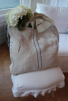 French grain sack sacks from Summersoul; nice!