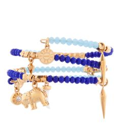 St. Tropez Charm Coil Bracelet | Gone Native | Henri Bendel  #moreelephants! #henribendel