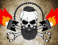 """Check out new work on my @Behance portfolio: """"Skull animation"""" http://be.net/gallery/34142129/Skull-animation"""