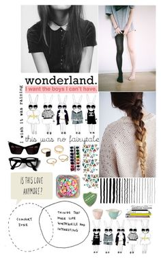 """you think history is repeating,you keep on pushing me away."" by thequibbler ❤ liked on Polyvore featuring Chanel and Wedgwood"