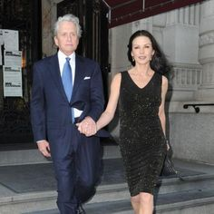 Michael Douglas family affair for Genesis Prize