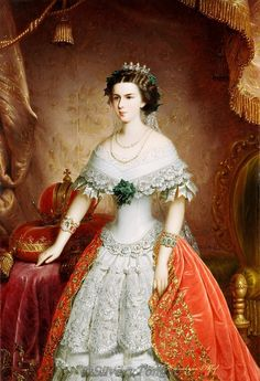 Elizabeth, Empress of Austria (1837–1898).