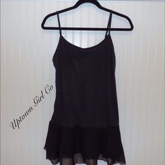 New top extender New chiffon lace shirt extender. Adds length to those shirts that are to short. This is stylish and fun. Uptown Girl Co Intimates & Sleepwear Chemises & Slips