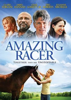 Rent Amazing Racer and other new DVD releases and Blu-ray Discs from your nearest Redbox location. Or reserve your copy of Amazing Racer online and grab it later. Eric Roberts, Great Movies, New Movies, Movies To Watch, Movies Online, Claire Forlani, Daryl Hannah, Horse Movies, Horse Books
