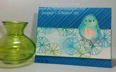 ButterDish Designs Happy Bluebird