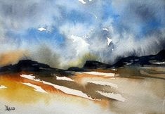 Musings in paint at the beginning of my day. Ink Painting, Watercolor Paintings, Watercolours, Canadian Artists, Watercolor And Ink, Artist Art, Storytelling, Buy Art, Journey