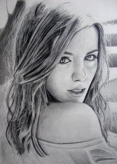 Pencil Art, Kate Beckinsdale