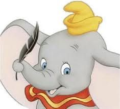 New Year's luck: let Jesus be your 'Dumbo feather'! Dumbo Characters, Walt Disney Characters, Disney Films, Disney Pixar, Dumbo Disney, Disney Images, Disney Pictures, Cute Disney, Disney Art