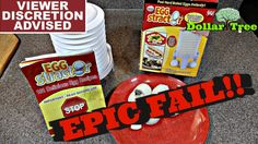 DollarTree Days -  Egg Stractor } EPIC FAIL!!  |   VIEWER DISCRETION IS ...