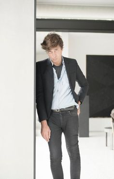 Exclusive: Hedi Slimane On Saint Laurent's Rebirth, His Relationship With Yves & the Importance of Music
