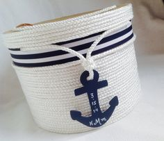 Wedding Card Holder  Beach or Nautical Theme Event  I feel like I could make this... possibility?