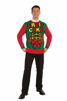 Amazon.com  Inappropriate Funny Ugly Christmas Sweater Under the Mistletoe  Clothing  Ugly Sweater f49207bef7