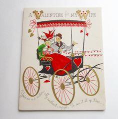 Vintage Pop-Up Valentine's Card - never used