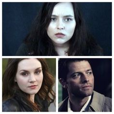 Alex looks like cas and meg put together... So interesting!
