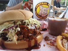 Central BBQ :: a local favorite for pulled pork and ribs is located on Central Avenue (2nd location is downtown). The homemade chips and BBQ nachos are awesome as well! Central Avenue - Midtown