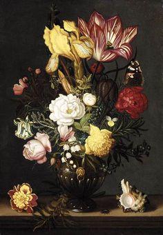 BOSSCHAERT, Ambrosius the Younger Dutch painter (b. 1609, Arnemuiden, d. 1645, Utrecht) Still-Life1627