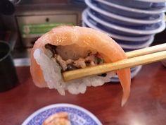 -Kurazushi- Salmon $ 1.05 http://alike.jp/restaurant/target_top/593872/
