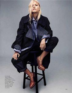 Louise Parker by Jason Kibbler for Vogue Spain
