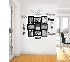 FAMILY IS FOREVER PICTURE SAYINGS WALL